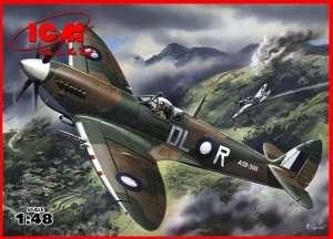 Spitfire Mk.VIII WWII British Fighter in scale 1-48