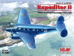 Beechcraft C-45F Expeditor II model ICM 48182 in 1-48