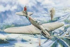 Il-2 Ground attack aircraft in scale 1-32