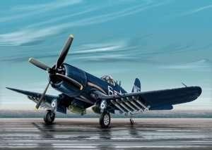 F4U-4B Corsair in scale 1-72