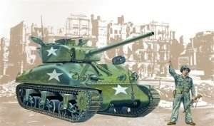 M4A1 Sherman in scale 1-35