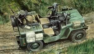 Commando Car in scale 1-35