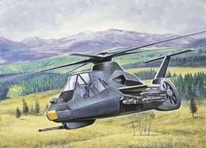 RAH-66 Comanche in scale 1-72