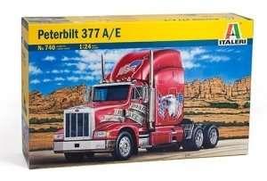 Classic Peterbilt 377 A/E in scale 1-24