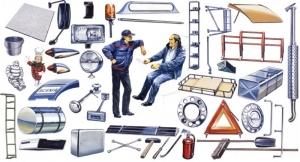 Truck Shop Accessories Italeri 0764 in 1-24