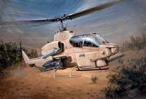 Bell AH-1W Supercobra model Italeri in scale 1-48
