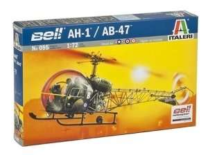 Helicopter AH-1/AB-47 in scale 1-72