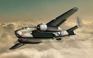 B-25G Mitchell in scale 1-72
