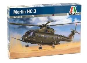 Helicopter Merlin HC.3 in scale 1-72