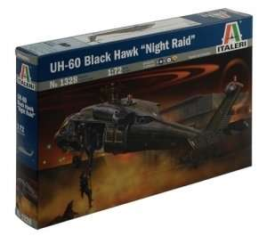 UH-60/MH-60 Black Hawk Night Raid in scale 1-72