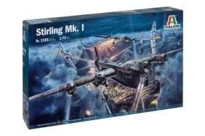Stirling Mk. I - model Italeri in scale 1-72