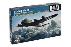 Stirling Mk. IV Glider Tug - Paratroop transport in scale 1-72