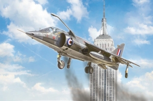 Harrier Gr.1 Transatlantic Air Race 50th Ann. model Italeri in 1-72