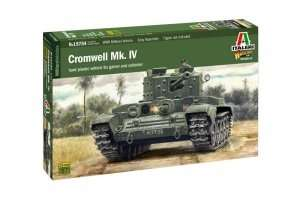 Cromwell Mk.IV model Italeri in scale 1-56