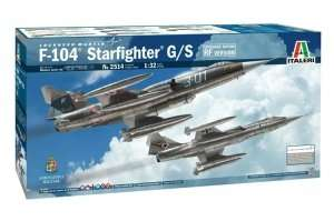 F-104 Starfighter G/S in scale 1-32