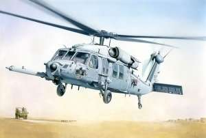 Helicopter MH-60K Blackhawk SOA in scale 1-48 Italeri 2666