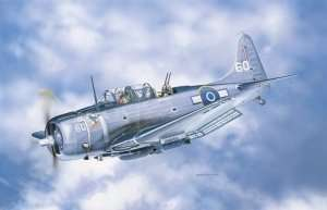 Douglas SBD-5 Dauntless in scale 1-48