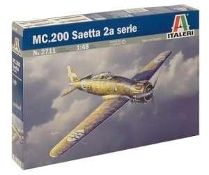 MC.200 Saetta 2a serie in scale 1-48 Italeri 2711