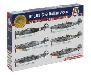 Italeri 2719 BF 109 G-6 Italian Aces