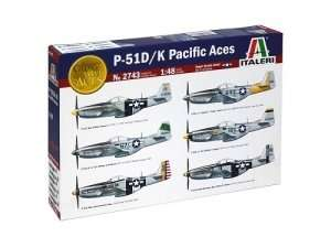 P-51 D/K Pacific Aces in scale 1-48
