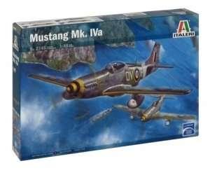 Fighter Mustang Mk. IVa in scale 1-48 Italeri 2745