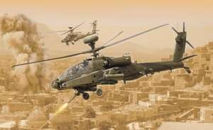 AH-64D Apache Longbow in scale 1-48