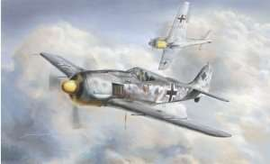 Fighter Focke Wulf Fw 190 A-8 in scale 1-48 Italeri 2751