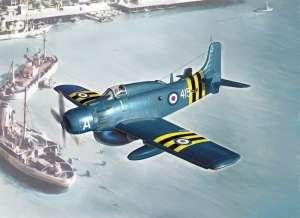 Douglas AD-4W Skyraider model Italeri in 1-48