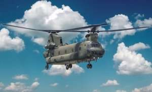Helicopter Chinook HC.2 CH-47F in scale 1-48