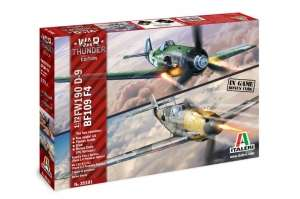 War Thunder - Bf109 F-4 and Fw190 D-9 Italeri 35101