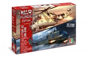 War Thunder - UH-1C and MI-24D model Italeri 35103