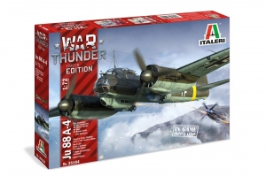 War Thunder Junkers Ju-88A-4 Limited Edition model Italeri
