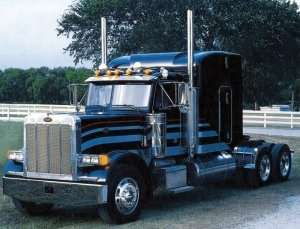 Classic Peterbilt 378 - Long Hauler in scale 1-24