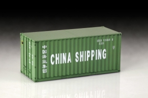 Shipping Container 20 Ft. model Italeri 3888 in 1-24