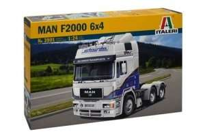 MAN F2000 6x4 in scale 1-24