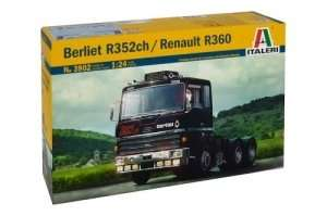 Berliet R352ch / Renault R360 in scale 1-24