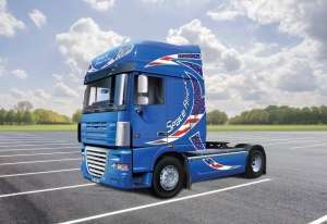 DAF XF-105 Space America in scale 1-24