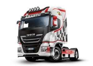 Iveco Hi-Way E5 Abarth in scale 1-24