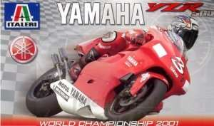Yamaha YZR500 2001 model Italeri in scale 1:6