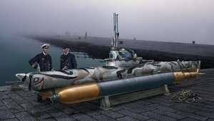 U-boot Biber in scale 1-35 Italeri 5609