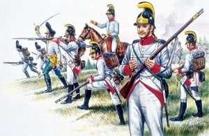 Austrian Infantry - Napoleonic War - in scale 1-72