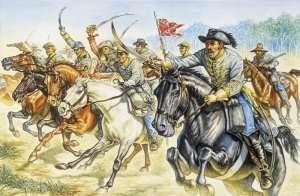 Confederate Cavalry in scale 1-72