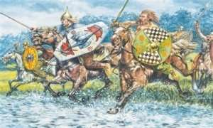 Celtic Cavalry in scale 1-72