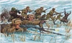 Russian Infantry - Italeri - in scale 1:72
