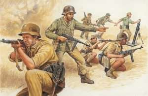 German Africa Corps - figure WWII in scale 1-72
