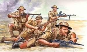 British 8th Army in scale 1-72 Italeri 6077