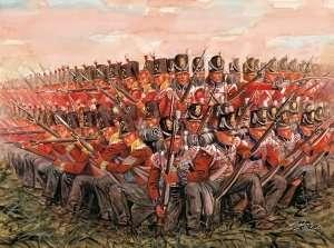 Italeri 6095 British Infantry 1815