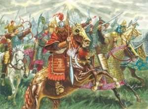 Chinese Cavalry in scale 1-72