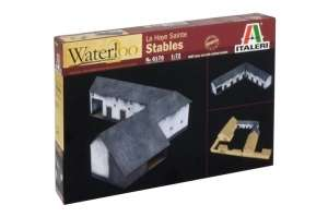 La Haye Sainte Stables - Waterloo - Italeri 6176 in 1-72