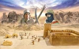 Beau Geste Algerian Tuareg Revolt - Battle set in scale 1-72
